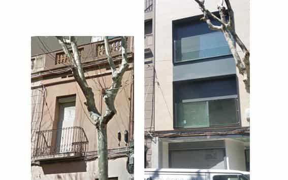 rehabilitación fachadas calle guifré